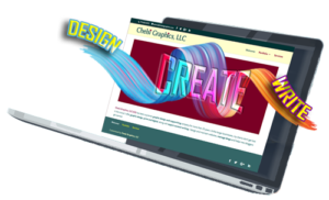 Laptop Design Create Write